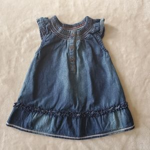Mexx Blue Denim Dress Size 0-3 Months